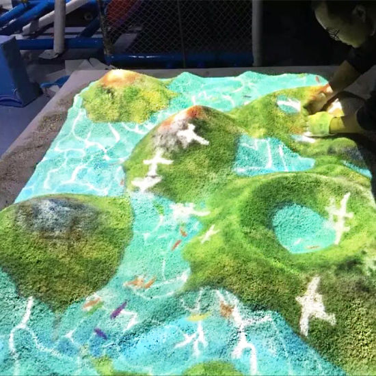 Park-Projection-System-Interactive-Sandbox-Sand-Table